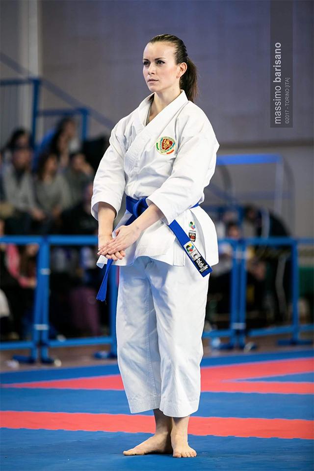 Michela Pezzetti- nazionale Karate (LEGGI L'INTERVISTA)