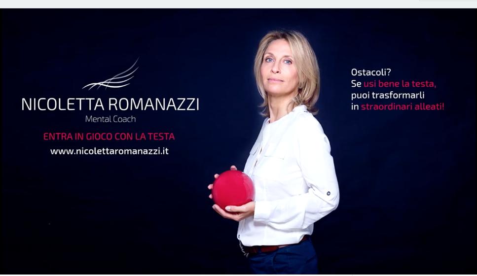 Nicoletta Romanazzi mental coach